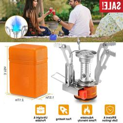 Portable Camping Stoves Backpacking Stove with Piezo Ignitio