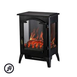 DOIT Electric Fireplace Stove Heater,1500W Free Standing S