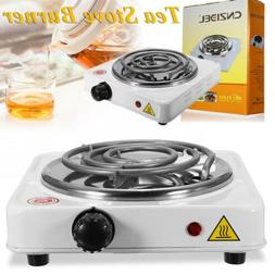 Portable Electric Stove Burner Hot Plate Home Dorm Cook Stov