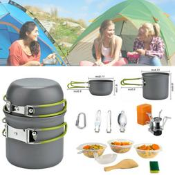 Portable Gas Camping Stove Butane Propane Burner Outdoor Hik