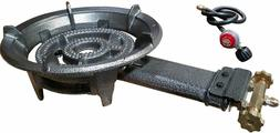Portable Large High Pressure Propane Burner Gas Stove Cookin