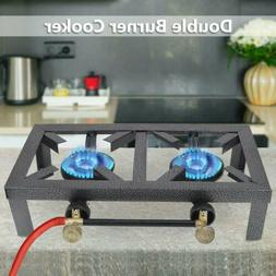 Portable Propane Cooker Burner Stove Gas Outdoor Cooking Cam