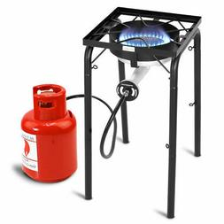 Portable Propane 200,000-BTU Single Burner Outdoor Camp Stov