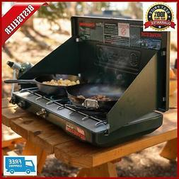 Portable Propane Gas Classic Stove 2 Burners Outdoor Camping