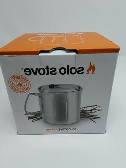 Solo Stove Solo Pot 900: Lightweight Stainless Steel Backpac