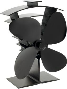 Valiant Premium IV Heat Powered Stove Fan for Wood Burner an