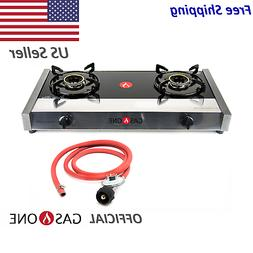 Gas One Premium Propane Gas Stove Range with Propane Regulat