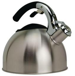 Primula Ptk-6330 3 Qt Stainless Steel Soft Grip Tea Kettle
