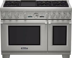 Thermador Pro Grand PRG486JDG 48 Inch Pro-Style Gas Range