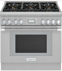 Thermador Pro Harmony PRG366WH 36 Inch Pro-Style Gas Range 6