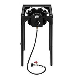Protable Propane Cooking Gas Triple Burner Outdoor Camping B