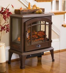 Panoramic Quartz Infrared Stove Heater 4,600 BTU - Bronze -