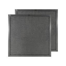 2 PACK Air Filter Factory 11 X 11 X 3/8 Range Hood Aluminum