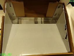 """REGENCY Stainless Steel Over Stove Wall Microwave Shelf 18""""x"""