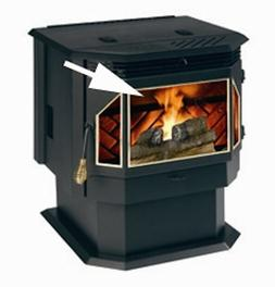 Replacement glass for Englander Stoves Part# AC-G40