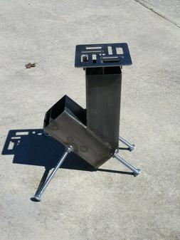 Rocket Stove Gravity Feed Design be ready for hurricane seas
