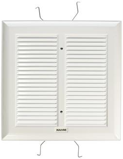 Broan S97011308  Spring Mounted Bathroom Fan Cover/Grille As