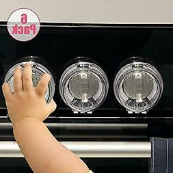 Safety Children Kitchen Stove Knob Covers Eudemon 6 Pack Sui