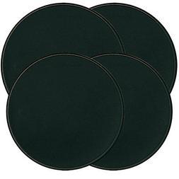 Range Kleen Set of Four Burner Kovers, Black
