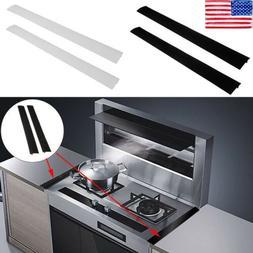 Silicone Kitchen Stove Counter Gap Cover Oven Guard Spill Se