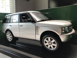 ERTL Silver Land Rover Range Rover - 1:18