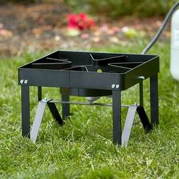 Backyard Pro Square Single Burner Outdoor Patio Stove / Rang