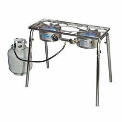 Camp Chef Stainless Steel Explorer Two Burner Stove