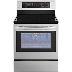 LG 6.3 Cu. Ft. Stainless Steel Electric Single Oven Range