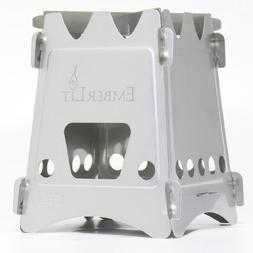 Emberlit Stainless Steel stove,Compact Design Perfect for Su