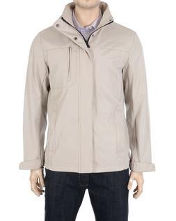 Calvin Klein Stone Beige Lightweight Windbreaker Jacket Size