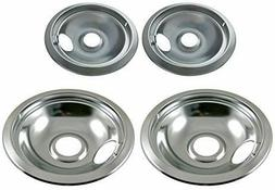 Stove Drip Pan Covers Set For Frigidaire Kenmore Electric Bu