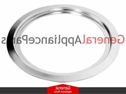 "Stove Range 6"" Chrome Burner Drip Ring Replaces Maytag Amana"