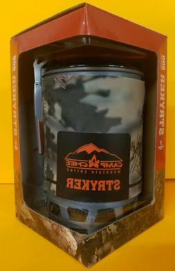Camp Chef Stryker Multi-Fuel Stove, King's Camo, MS200C Back