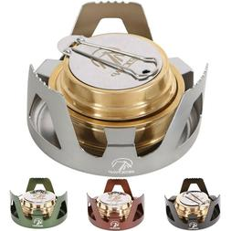 REDCAMP Survival Alcohol Stove Burner For Backpacking Hiking
