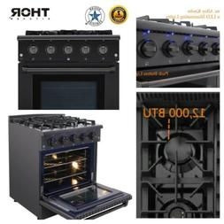 Thor 30'' Gas Range Cooktop Stove Oven HRG3080 Stainless Ste