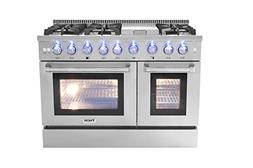 thorkitchen hrd4803u freestanding dual fuel