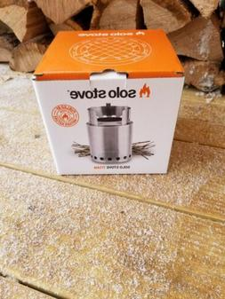 Solo Stove Titan Stainless Steel Wood Burning Hiking Camping