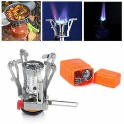 Outdoor Camp Stove Burner Ultralight Backpacking Gas Butane