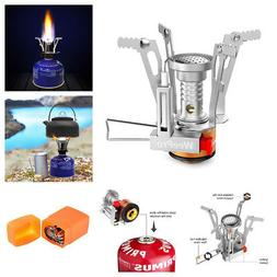 Ultralight Portable Outdoor Backpacking Camping mini Stoves