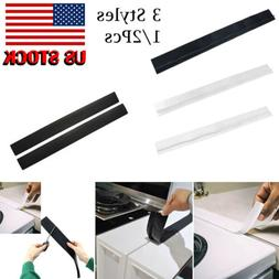 US 2Pcs Silicone Kitchen Stove Counter Gap Cover Oven Guard