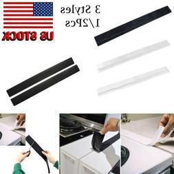 US 2Pcs Silicone Kitchen Stove Counter Gap Cover Oven Guard