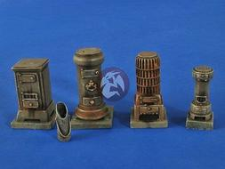 Verlinden 1/35 Workshop Cast Iron Heaters and Stoves  and Co