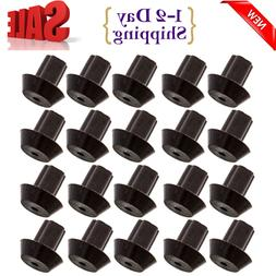 20-Pack of Viking Range-Compatible Grate Rubber Feet Bumpers