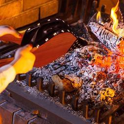 Villa <font><b>Fireplace</b></font> Bellows Handset Wood Air