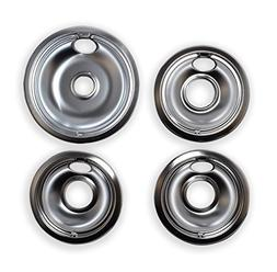 Vastu Aftermarket Replacement Drip Pans for Whirlpool Range