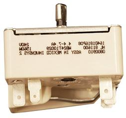 GE WB24T10029 Electric Range Infinite Switch, 6 Inch