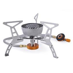 OUTAD Windproof Foldable Camping Stove for Outdoor Backpacki