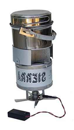 Sierra Stove wood burning backpacking/camp stove with Comple