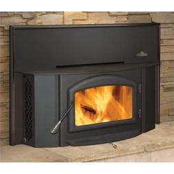 Wood Burning Fireplace Insert for EPI-1402- Metallic Black