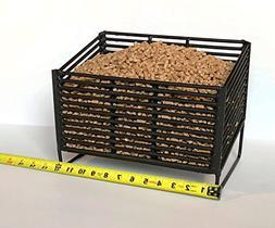 Wood Pellet Basket Heater, Alternative Heating Source Using